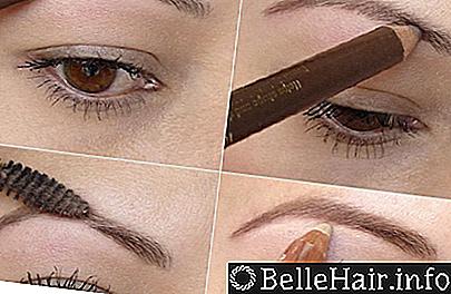 Смотреть 5 вариантов коррекции бровей при помощи карандаша и теней: советы стилиста видео
