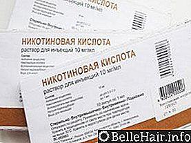 Никотиновая кислота от облысения - Все о росте волос